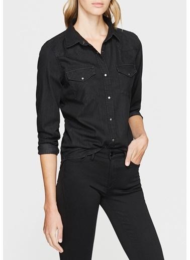 Mavi Isabel Vintage  Jean Gömlek Siyah